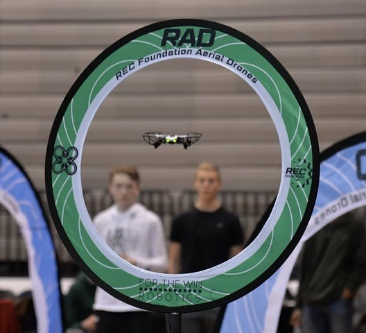 West Virginia's first flying robotics competition is May 15