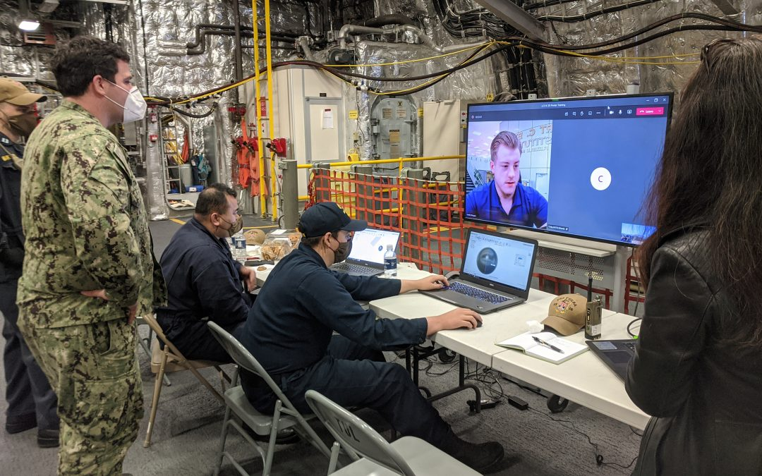 RCBI assists U.S. Navy with 3D printing technology