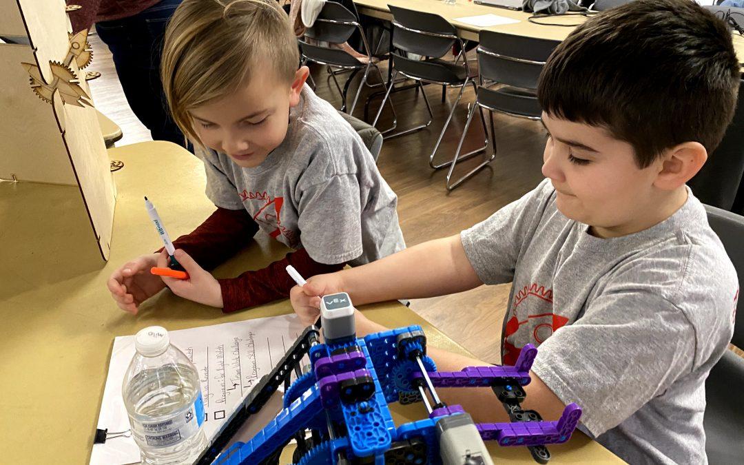 In-person robotics camps are returning to RCBI Huntington
