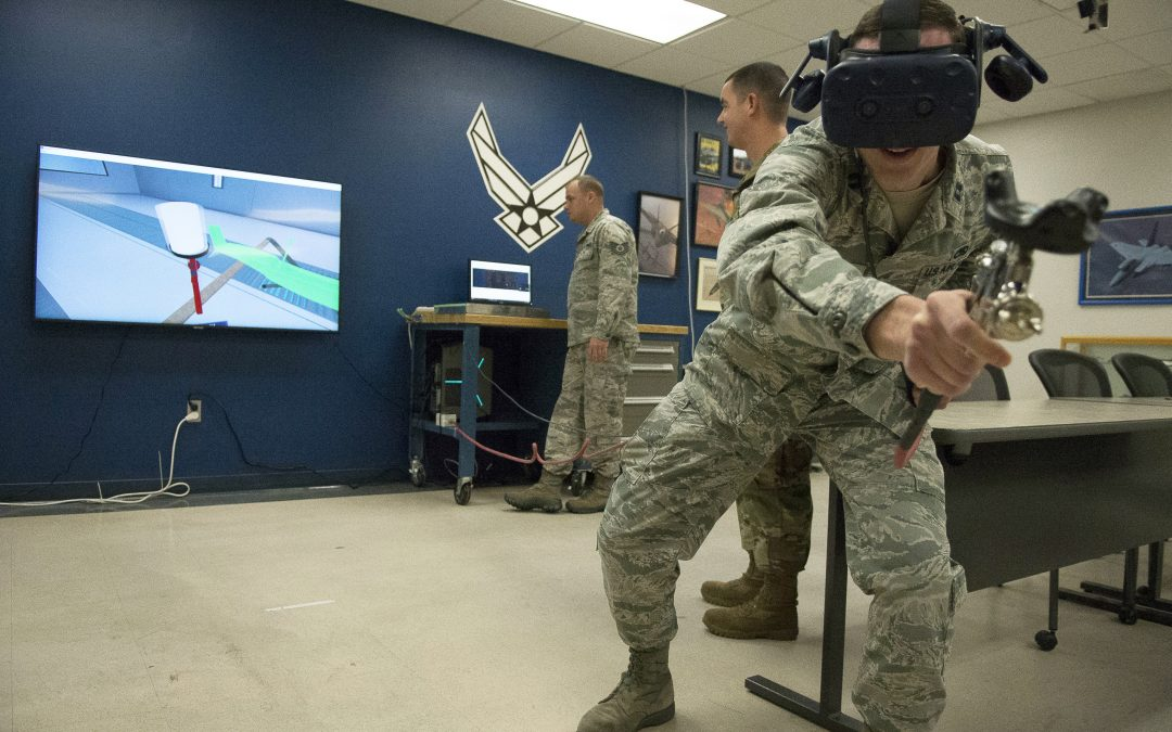 Aviation Maintenance Technology program will be first to incorporate virtual reality painting