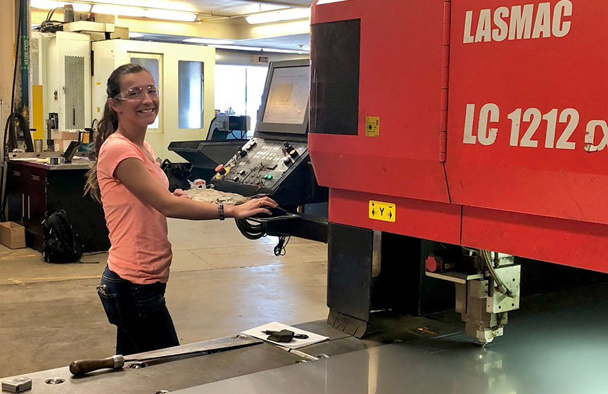 Co-Op leads to hands-on internship at RCBI