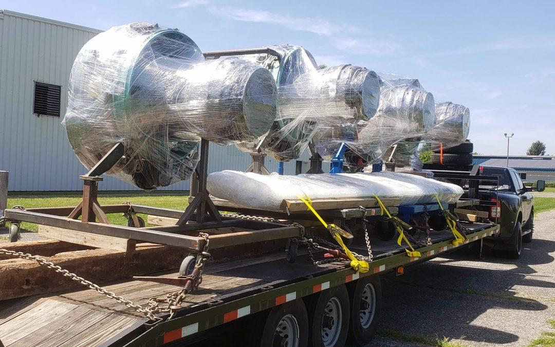Aviation Maintenance Technology Program lands jet engine donation