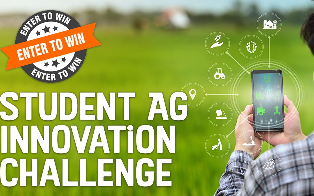 Statewide agriculture competition to reward student innovation
